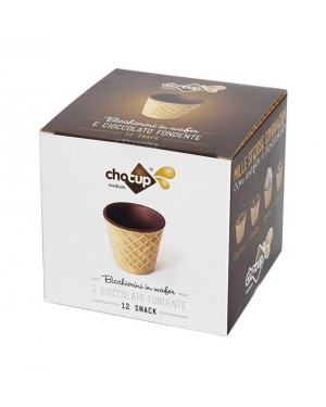 Pahar Comestibil Chocup Medium 60 ml - 12 buc/cutie
