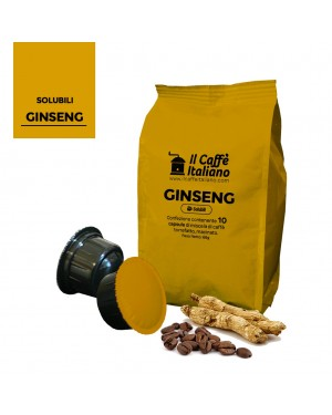 Capsule Ginseng - Compatibile CaffItaly® 10 buc