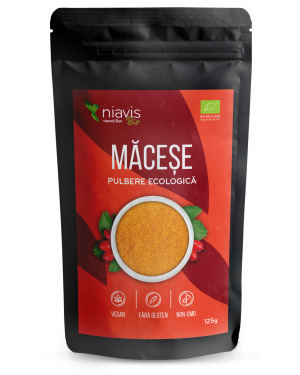 Macese pulbere BIO (Ecologica) 125g